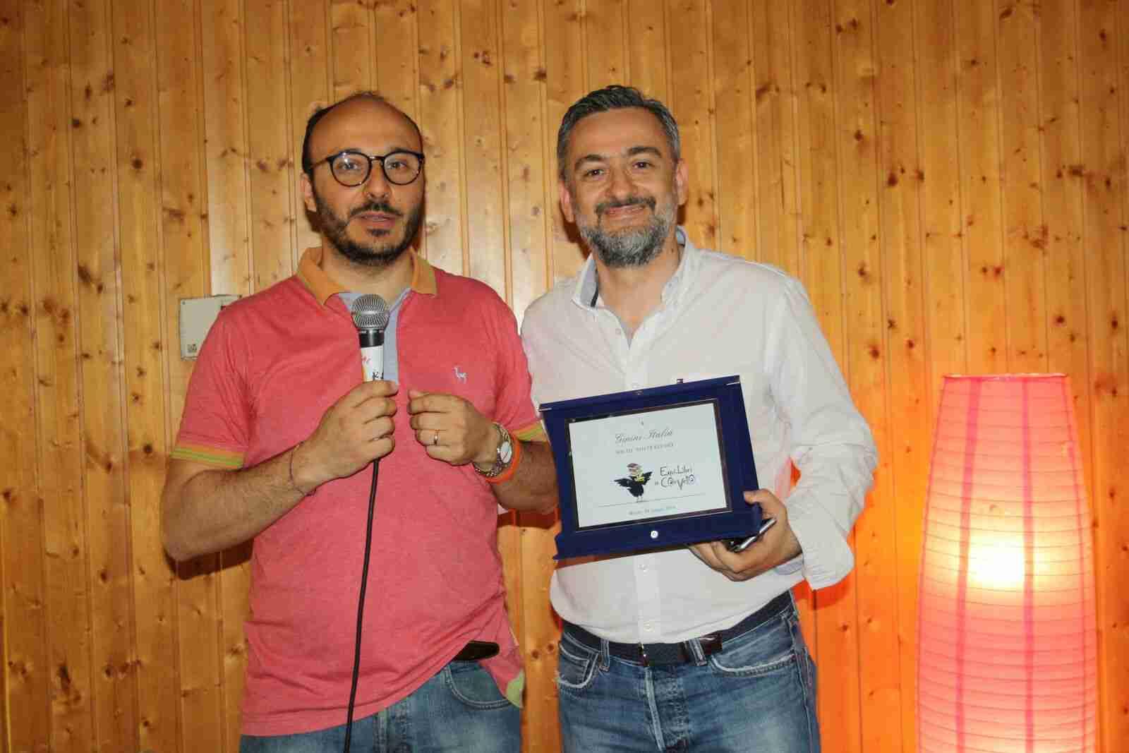 Equi.libri_consegna targa Ginini Group